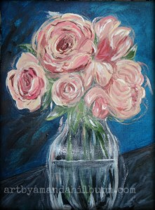 Roses start to finish 9