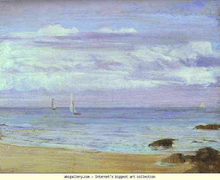 Blue and Silver: Trouville