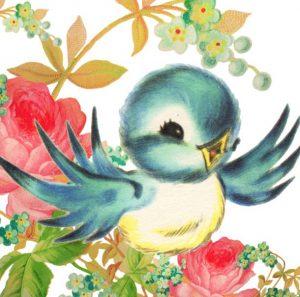Little Vintage Bluebird
