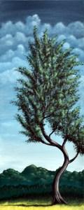 Landscape Tree Art, Original Art, Modern Art, Colorful Home Decor, Wall Art, Tree Artwork, Buy Art Paintings, Paintings and Artwork, Art Paintings for Sale