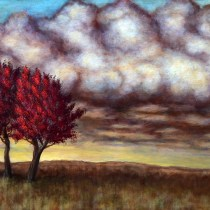 Landscape Tree Art, Original Art, Modern Art, Colorful Home Decor, Wall Art, Tree Artwork, Buy Art Paintings, Paintings and Artwork, Art Paintings for Sale