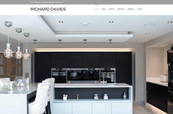 Art by Design - Bridgend Web Design - Website for Richard Davies Kitchens