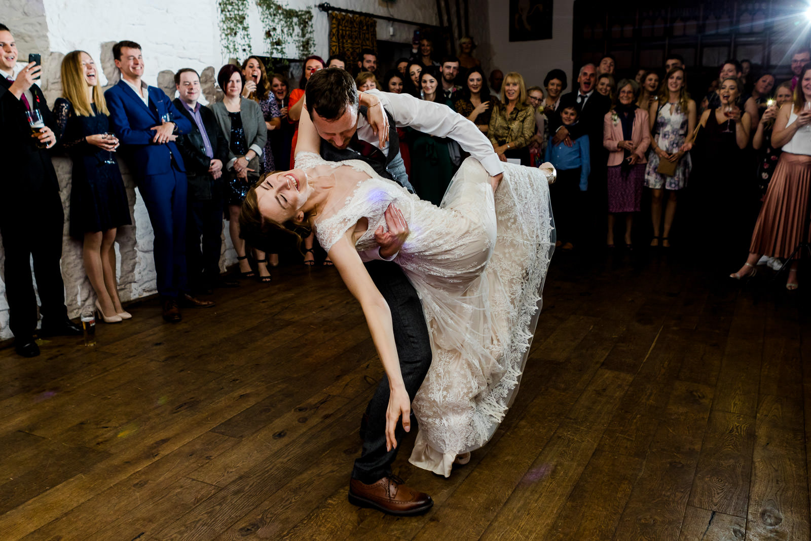Miskin Manor Wedding Photography - Art by Design Photography - First Dance