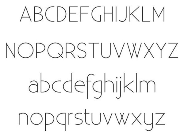 Existence Light Free for Commercial use Font