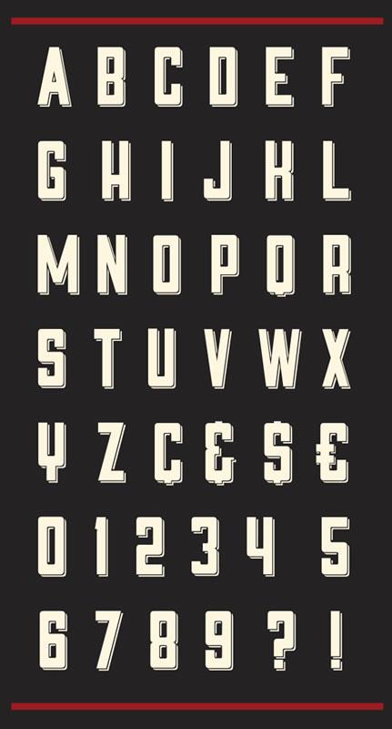 9 Free Fonts le kell töltenie