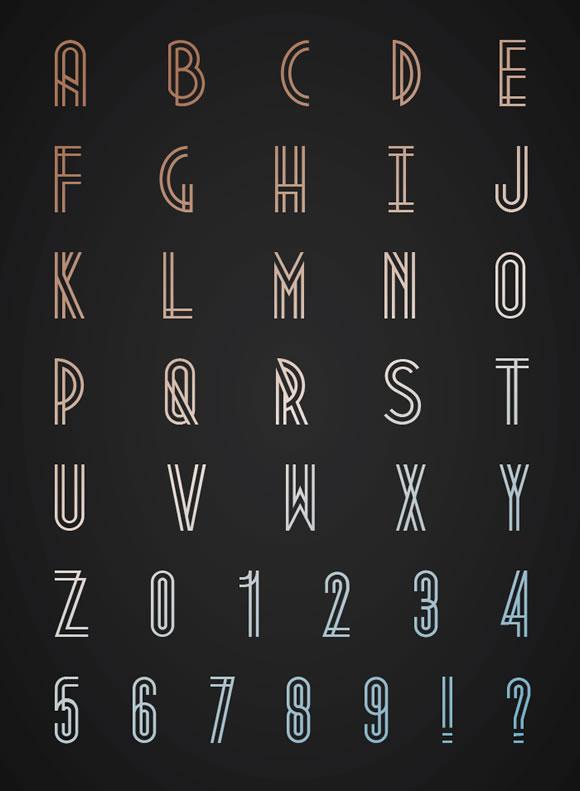 10 New Free Fonts
