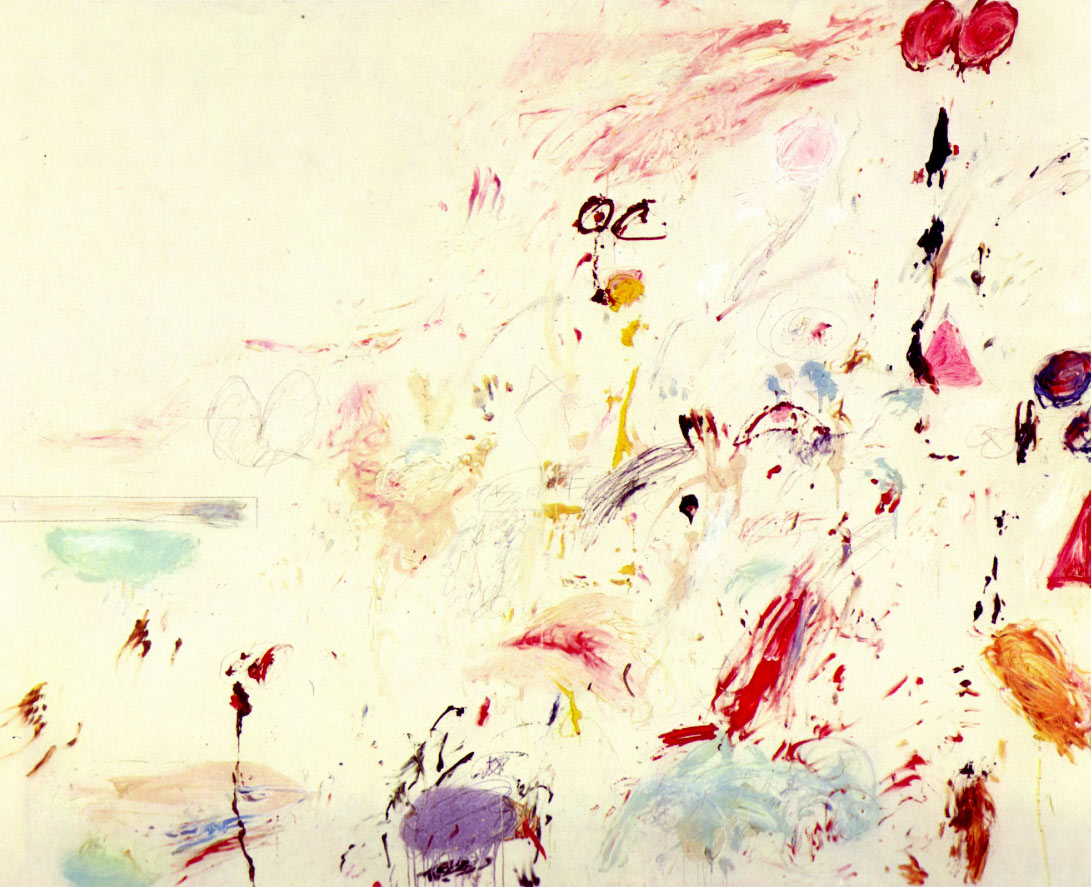 Cy Twombly, 'Bay of Naples', 1961 - borrowed from the Artchive