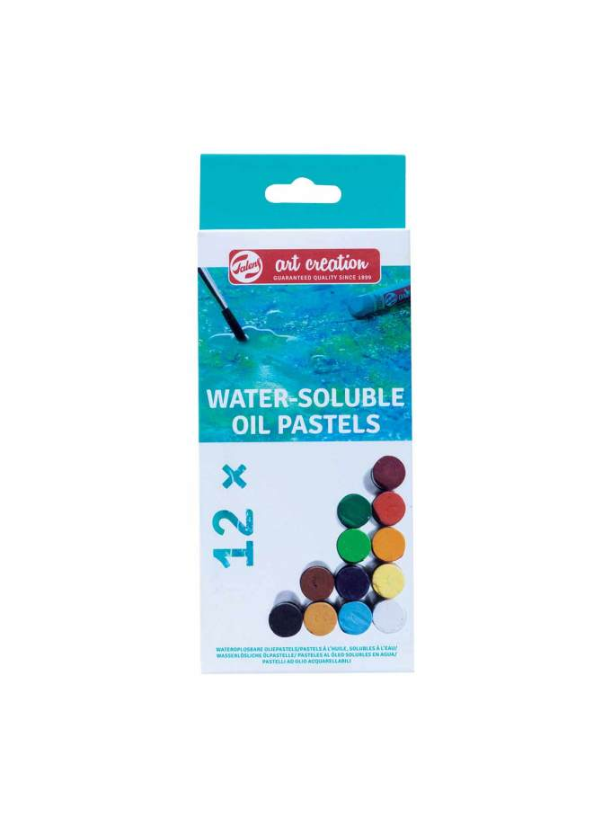 Pastel-Ladiou-Art-Creation-Water-Soluble-12-Talens-Art&Colour-Front