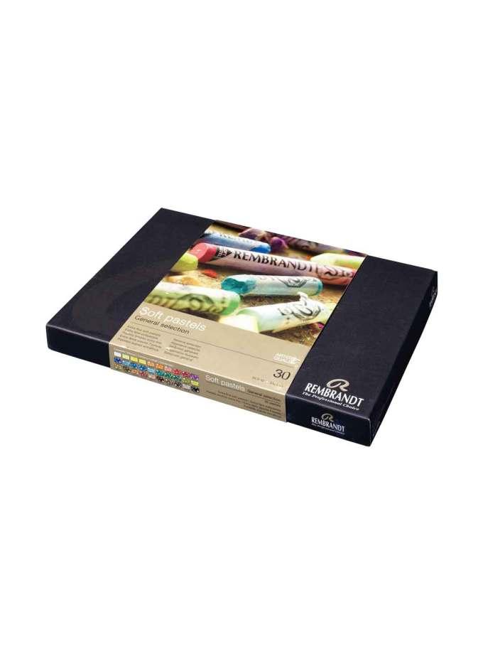 Set-30-Soft-pastel-rembrandt-general-talens-art&Colour