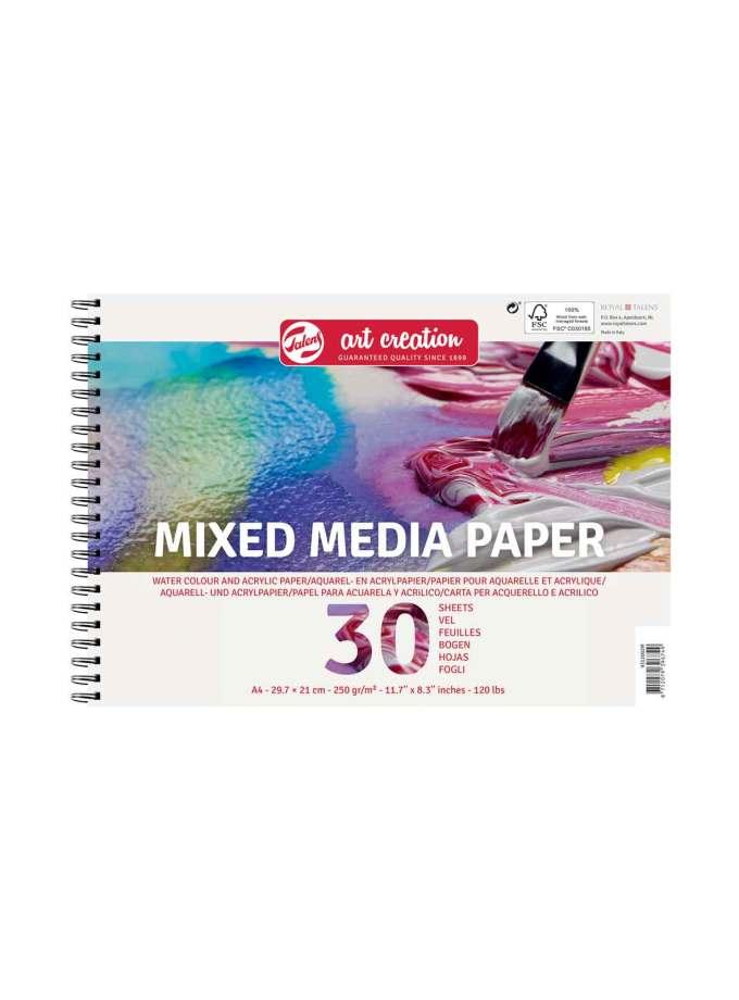 Mplok-A4-Mixed-Media-Paper-Talens-ArtCreation-Art&Colour-1