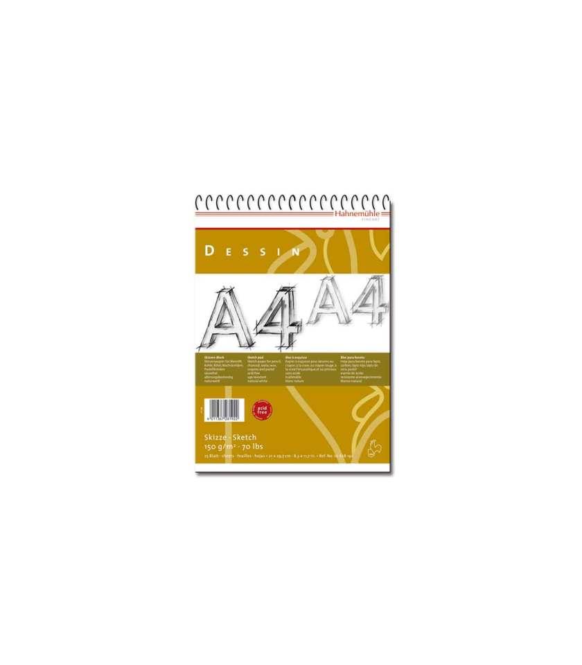 Mplok-Dessin-Sxediou-A4-Sketch-150gsm-Hahnemuhle-Art&Colour