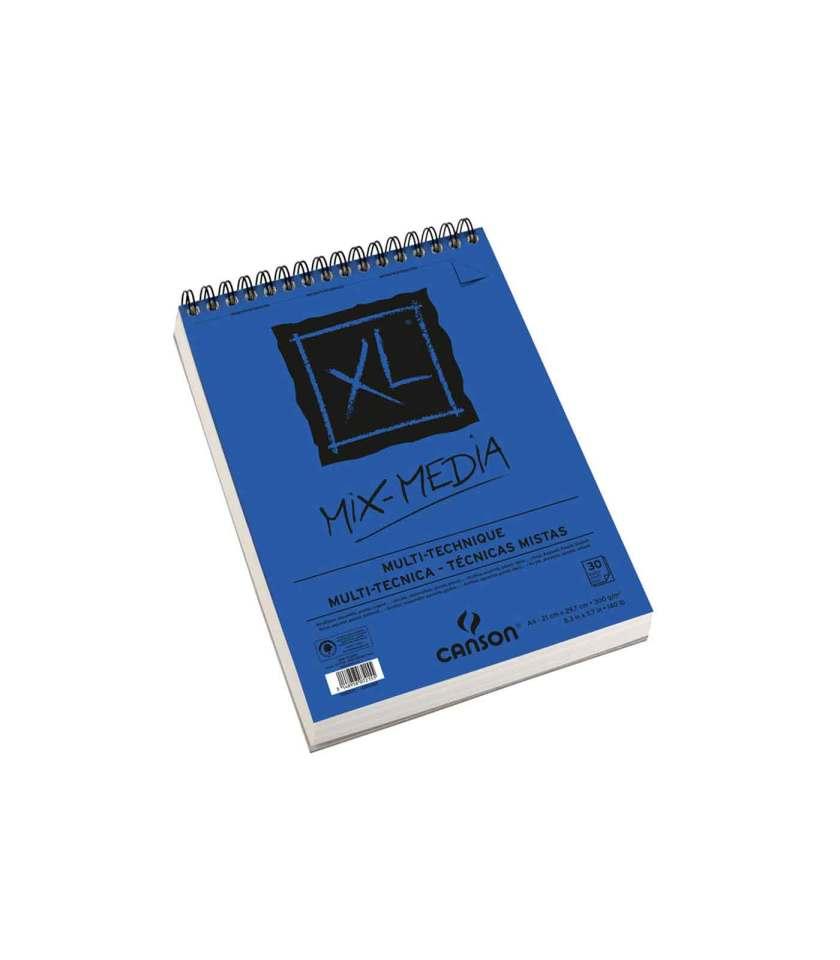 mplok-zografikis-XL-MixMedia-A4-Canson-Art&Colour
