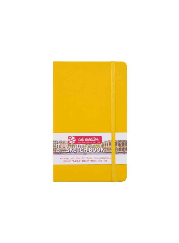 sketchbook-A5-Pastel-Yellow-ArtCreation-Talens-Art&Colour