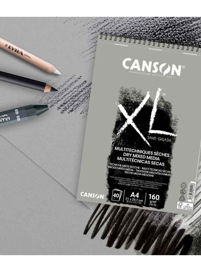 mplok-zografikis-sxediou-sand-grain-gray-Canson-Art&Colour