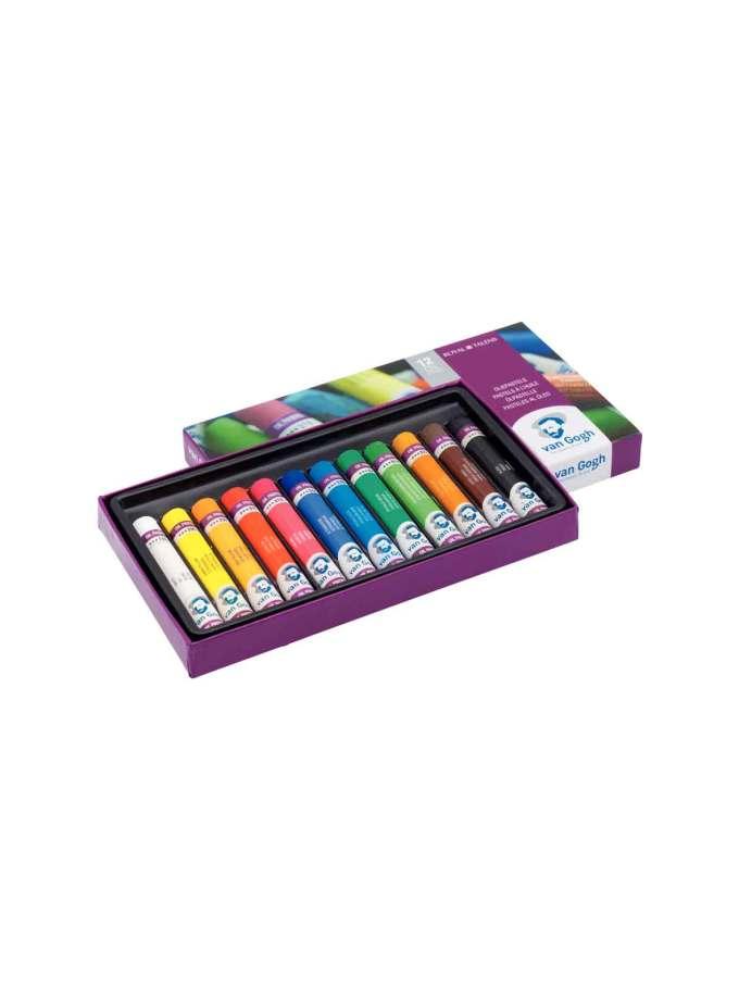 set-12-oil-pastel-van-gogh-Talens-Art&Colour