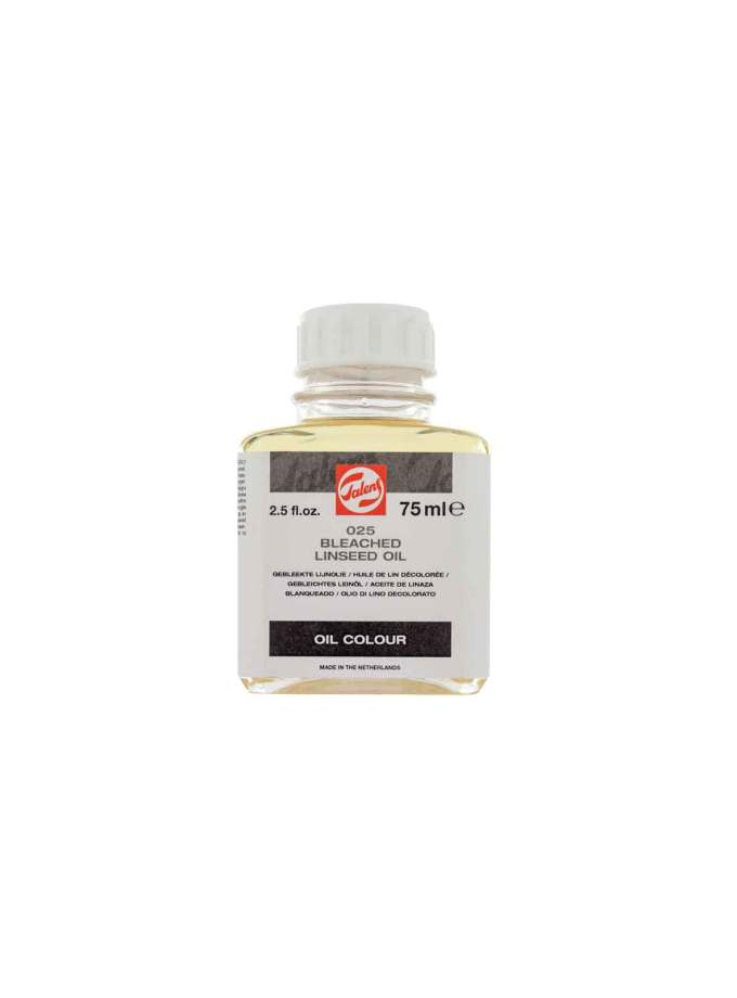 75ml-025-linelaio-Bleached-Linseed-Oil-Talens-Art&Colour