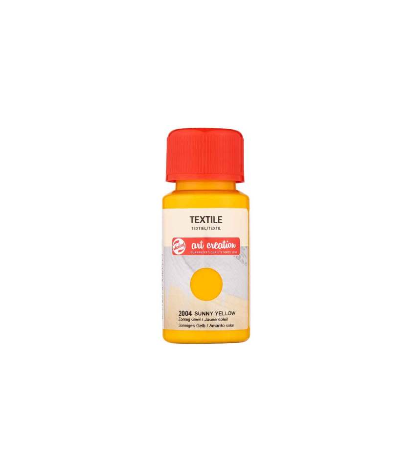 Textile-Paint-Talens-Art-Creation-50ml-2004-Sunny-Yellow-Art&Colour