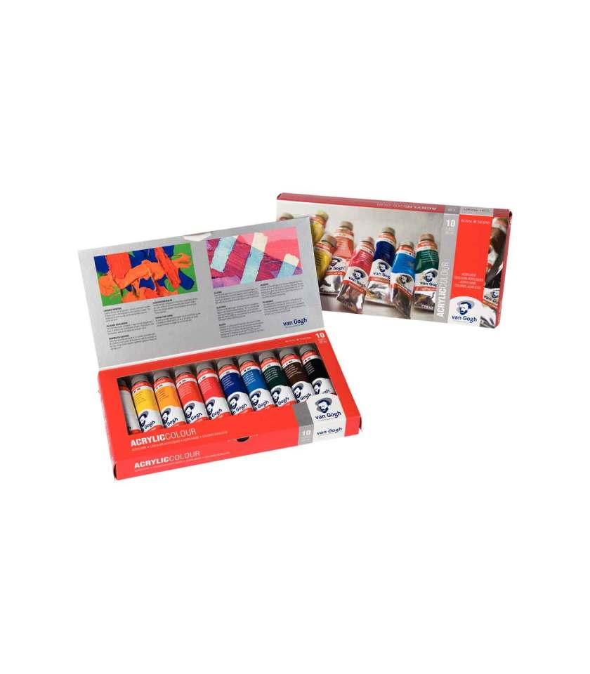 set-10x40ml-van-gogh-akrulika-talens-Art&Colour-0
