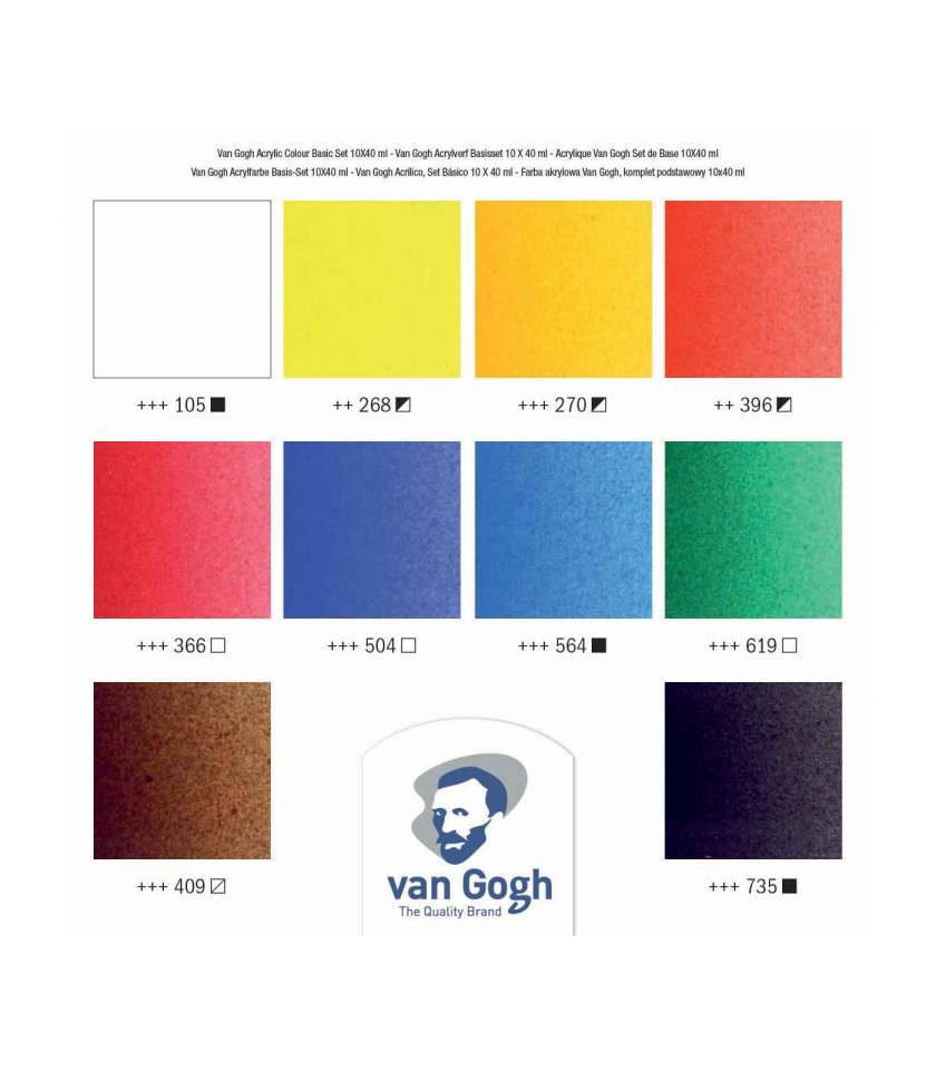 set-10x40ml-van-gogh-akrulika-talens-Art&Colour-colorcard