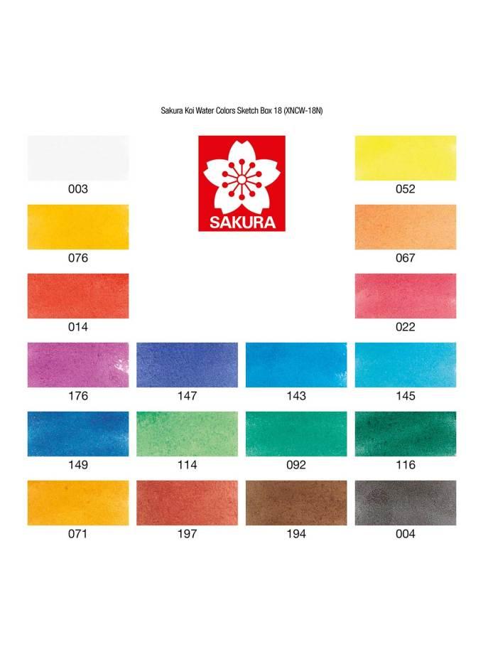 Sakura-Koi-watercolours-SketchBox-18colours-Art&Colour-2