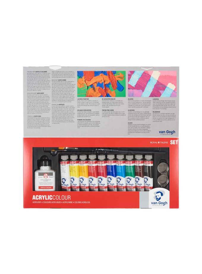 set-10x40ml-ACC-VanGogh-CombiSet-Talens-Art&Colour