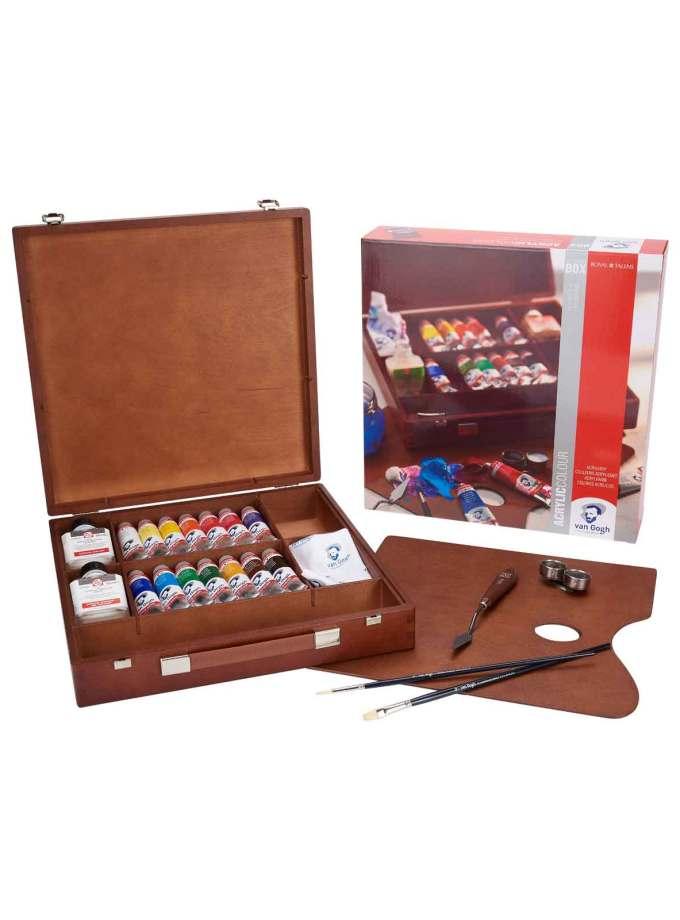 valitsa-zografikis-inspiration-box-acrylic-VanGogh-40ml-Talens-Art&Colour