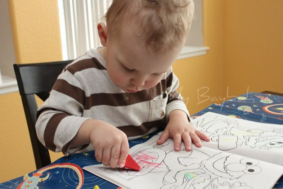 Coloring Toddler