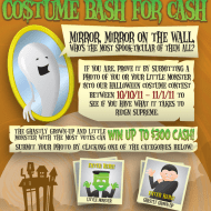 Costume Bash for Cash {Halloween Photo Contest}