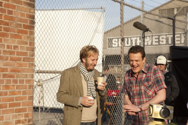 James Bobbin and Jason Segel