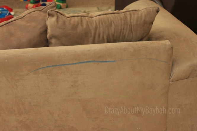Cool How To Clean Crayon Off Of A Microfiber Couch Short Links Chair Design For Home Short Linksinfo