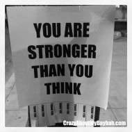 Wordless Wednesday Linky – You Are Stronger Than You Think
