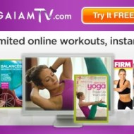 Gaiam TV Unlimited Workout and Yoga Videos {Giveaway} #InspireGaiamTV