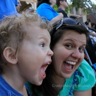 Our First Trip to Disneyland | Wordless Wednesday Linky