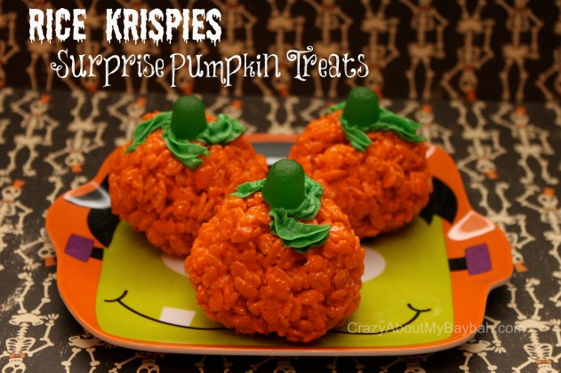 Rice Krispies Surprise Pumpkin Treats 2
