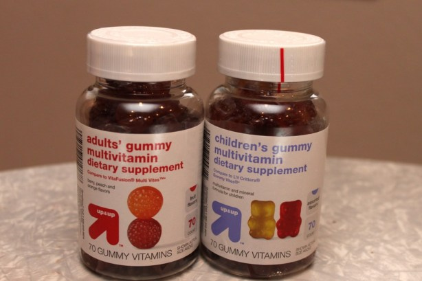 target up and up vitamins