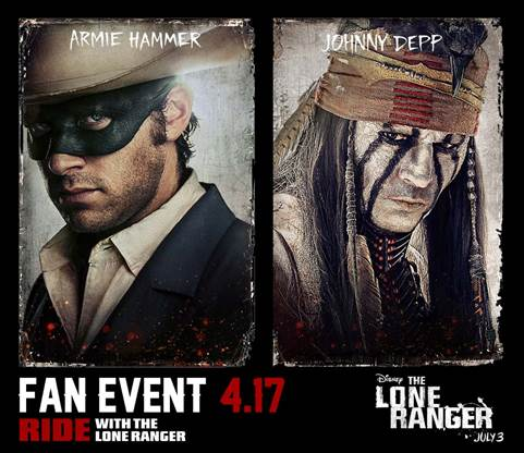 Lone Ranger Fan Event in Las Vegas, Nevada