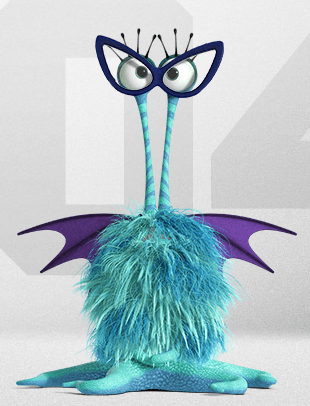 Create a Monsters University Monster! #MonstersUPremiere