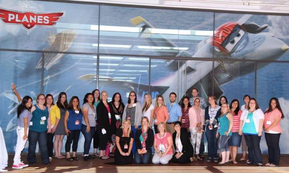 Disney Planes Event Bloggers at DisneyToon Studios