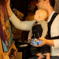 Our Little Artist | Wordless Wednesday Linky