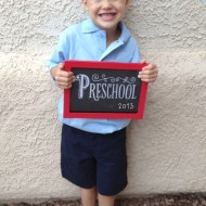 First Day of School   Wordless Wednesday Linky