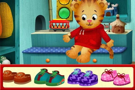 Daniel Tiger Neighborhood App