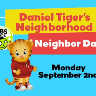 Celebrate Neighbor Day on Daniel Tiger's Neighborhood #Neighborday