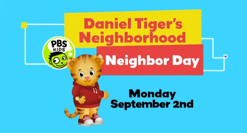 Celebrate Neighbor Day with Daniel Tiger!