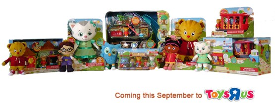Daniel Tiger Neighborhood Toys