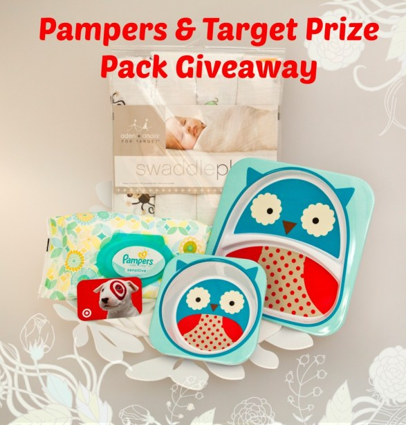 Pampers and Target Prize Pack #Giveaway
