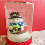 Easy DIY Snow Globe Tutorial