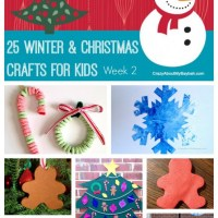 25 Winter and Christmas Crafts for Kids | Week 2