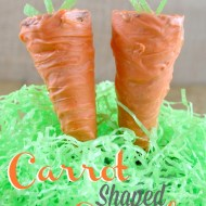Make a Fun Easter Dessert | Cute Carrot Shaped Cupcakes