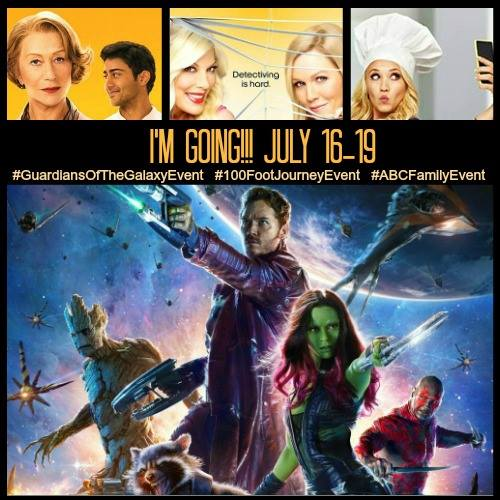 Headed to LA for a Trip of a Lifetime #GuardiansOfTheGalaxyEvent #100FootJourneyEvent #ABCFamilyEvent
