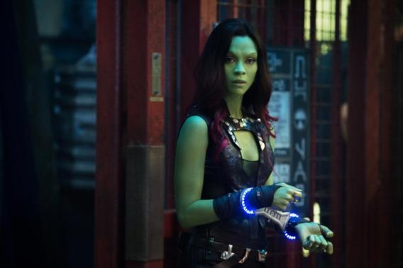 Zoe Saldana Talks About Being Gamora in Guardians of the Galaxy #GuardiansoftheGalaxyEvent